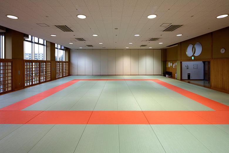 Judo lief auf Grund