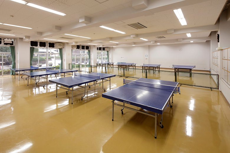 Tischtennisboden