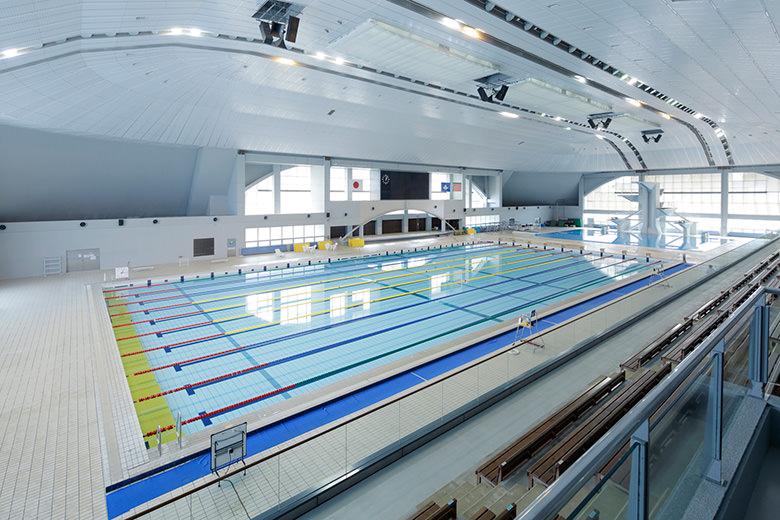 Schwimmbad (das Schwimmen von Rennen)
