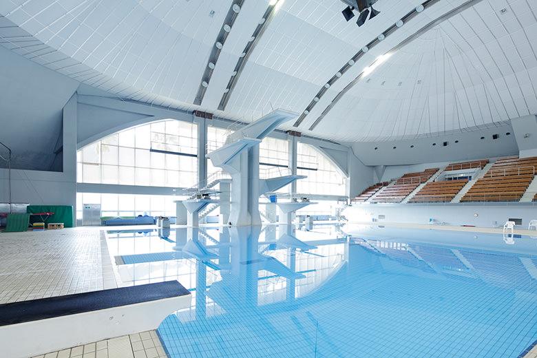 Schwimmbad (das Springen)