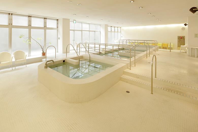 Entspannungsschwimmbad